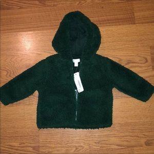 NET GYMBOREE Baby zip up hoodie 6-12 mo